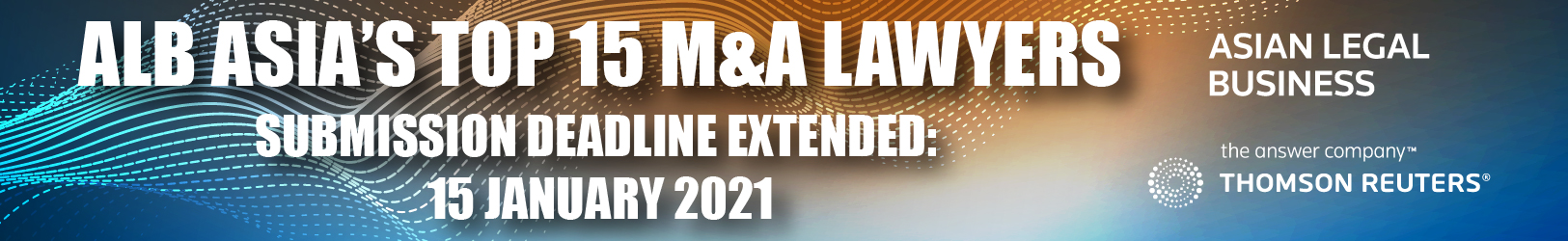 ALB Asia's Top M&A Lawyers 2021